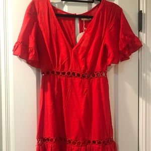 Peppermayo Red Dress, NWT